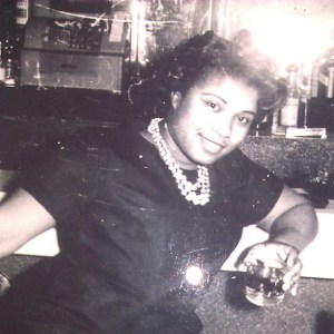 One of my favorite pictures of my mom.